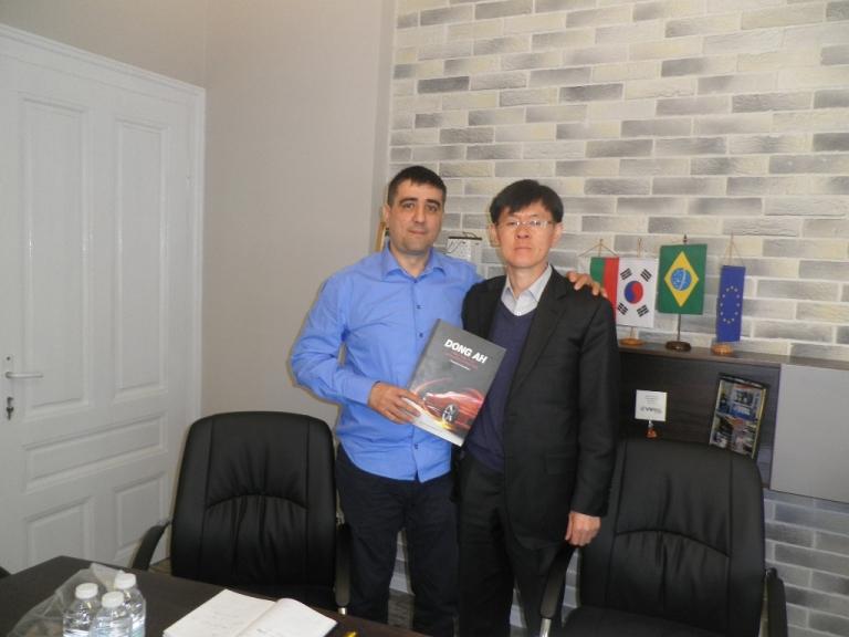 Среща с корейските партньори
